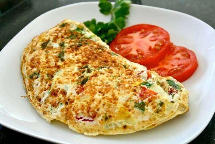 Omelete Completo Com Fritas - Restaurante Central Frutas