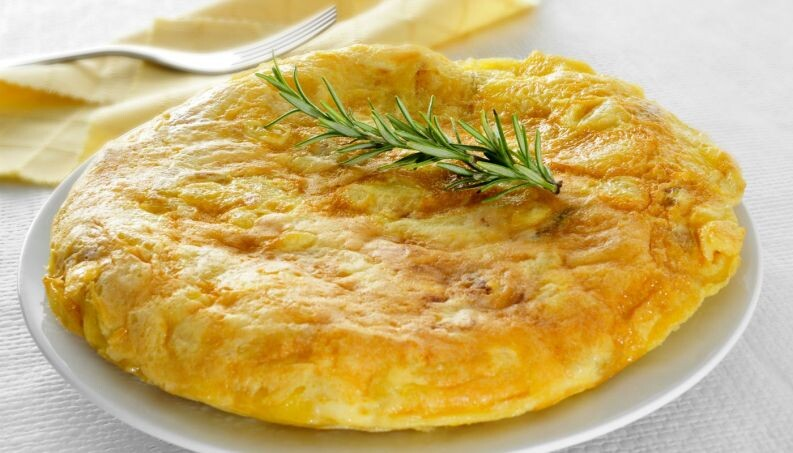 Omelete Vegetariano - Restaurante Central Frutas
