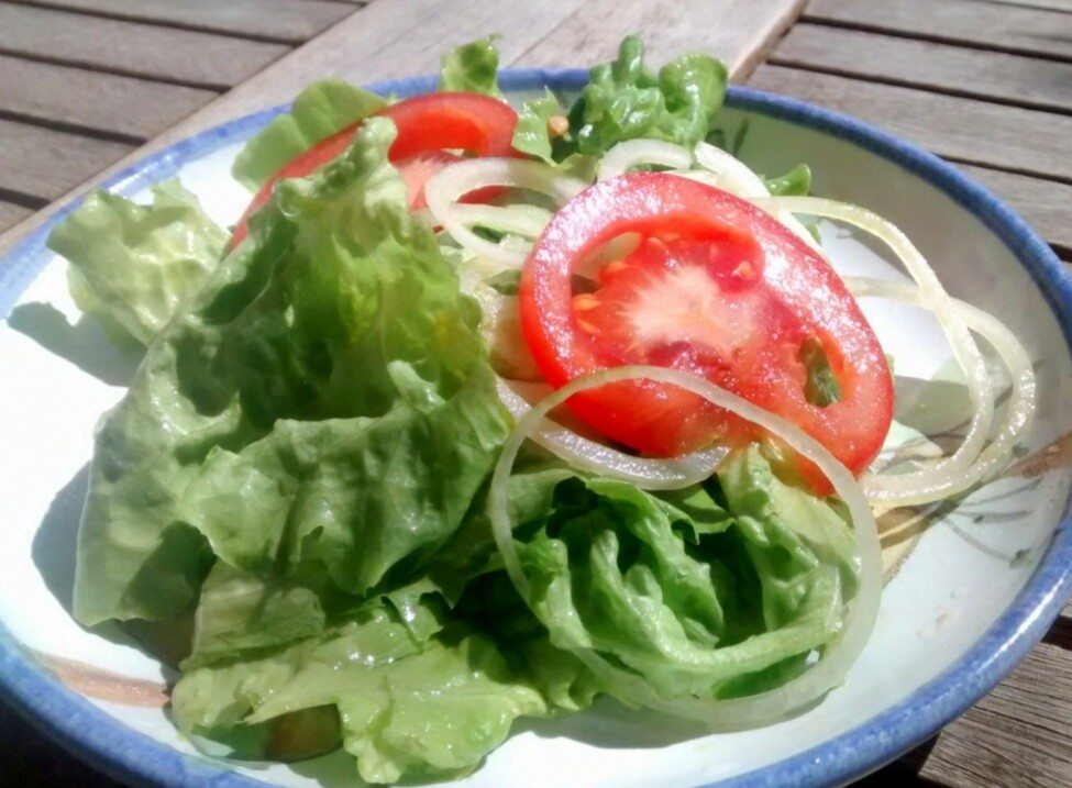 Salada Simples - Restaurante Central Frutas
